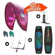 PACK KITESURF NORTH EVO + X-RIDE 2018