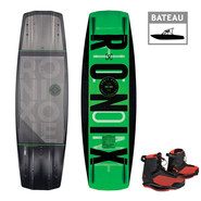 PACK WAKEBOARD RONIX ONE TIME BOMB 2019 + PARKS