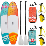 PACK SUP GONFLABLE SROKA MALIBU GIRLY FUSION 10.0 + MALIBU FUSION ORANGE 10.6 2019