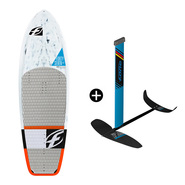 PACK DE KITEFOIL PLANCHE F-ONE CARBON + FOIL FREERIDE IC6 V1