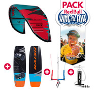 PACK KITESURF RED BULL KING OF THE AIR NAISH PIVOT + MONARCH 2019