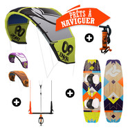 PACK KITESURF LIQUID FORCE ENVY 2014 + TAKOON SOURCE 2015