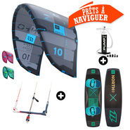 PACK KITESURF NORTH NEO + X RIDE 2018