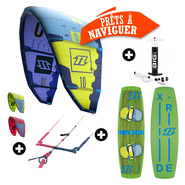 PACK KITESURF NORTH EVO + X RIDE 2016