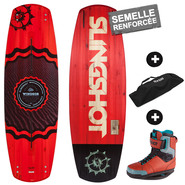 PACK WAKEBOARD SLINGSHOT WINDSOR + RAD 2016