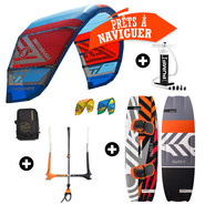 PACK KITESURF CABRINHA SWITCHBLADE 2017 + RRD BLISS V4