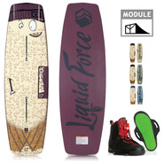 PACK WAKEBOARD LIQUID FORCE BUTTERSTICK 2019 + HITCH