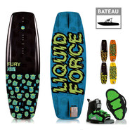 PACK WAKEBOARD LIQUID FORCE FURY 2019 + RANT