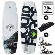 PACK WAKEBOARD LIQUID FORCE WITNESS GRIND 2016 + OBRIEN CONNECT 2017