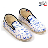 PANTOUFLES ALL IN CHARENTAISE HOMME MARIN PRINT