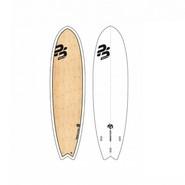 SURF PERFECT STUFF 6.4 FISH WHITE GLOSS