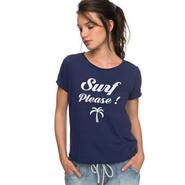T-SHIRT ROXY POP SURF C FEMME BLEU