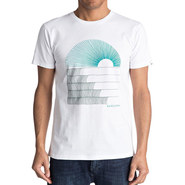 T-SHIRT QUIKSILVER SUSTE MORNING BLANC