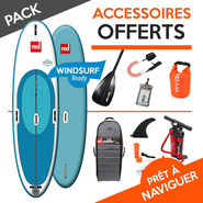 SUP GONFLABLE RED PADDLE WINDSURF 2017