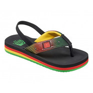 TONGS REEF AHI LIGHT UP PRINTS JUNIOR RASTA