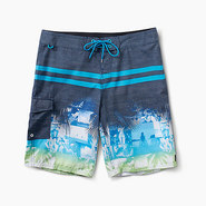 BOARDSHORT REEF MAINE BLEU