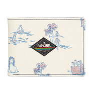 PORTEFEUILLE RIP CURL ALL DAY PRINT BLANC