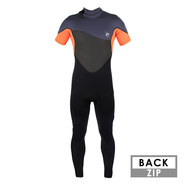 COMBINAISON RIP CURL OMEGA 3/2 MANCHES COURTES ORANGE 2018