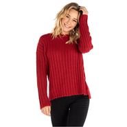 PULL FEMME RIP CURL RAS LE COU PANA ROUGE