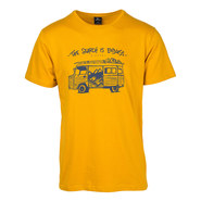 T-SHIRT RIP CURL WAGON SS HOMME JAUNE