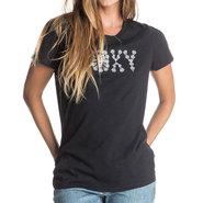 T-SHIRT ROXY CREW HIGH TIDES FEMME NOIR