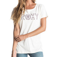 T-SHIRT ROXY CREW HIGH TIDES FEMME BLANC