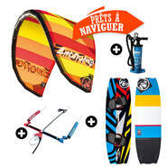 PACK KITESURF RRD EMOTION + BLISS 2016