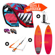 PACK KITESURF RRD RELIGION MKVII 2017 + NORTH WAM 2016