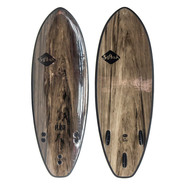 SURF SOFTECH FLASH FCS II 5.0 BLACK MARBLE