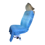 HOUSSE VOITURE ALL IN LIGHT SEAT COVER PRINT BLUE/VANILLE