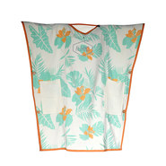 PONCHO SERVIETTE ALL IN TOWEL EXOTIC PRINT
