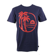 T-SHIRT QUIKSILVER SHD SECRET BLEU