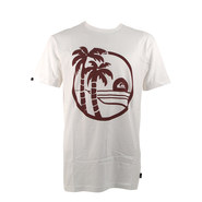 T-SHIRT QUIKSILVER SHD SECRET BLANC