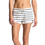 SHORT ROXY SIGNATURE STRIPE FEMME MARSHMALLOW