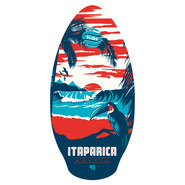 SKIM SLIDZ WOOD 41 ITAPARICA RED