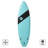 SURF SOFTECH HANDSHAPED SHORTBOARD 6.0