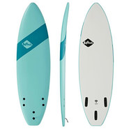 SURF SOFTECH HANDSHAPED SB FCS II 5.4 SOFT SKY
