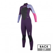 COMBINAISON MYSTIC STAR 3/2 BACK ZIP FEMME 2019 PURPLE