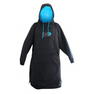 PONCHO ALL IN STORM VEST NOIR/BLEU