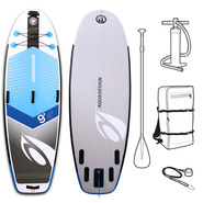 SUP GONFLABLE DE RIVIERE AQUADESIGN CROSS 9.4
