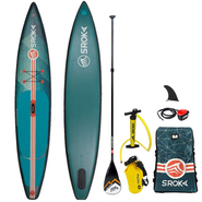 SUP GONFLABLE SROKA ALPHA RIDE FUSION VERT 12.6 X 28 2019