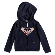 SWEAT A CAPUCHE ZIPPE ROXY COMING IN TAILS FILLE