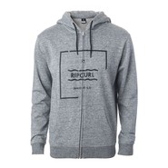 VESTE RIP CURL BROKEN SQUARE FLEECE GRIS