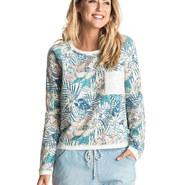 SWEAT ROXY WHITEWATER WAVES FEMME