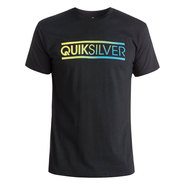 T-SHIRT QUIKSILVER CLASSIC FILLED IN NOIR