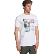 T-SHIRT QUIKSILVER LOCAL MOTIVE BLANC