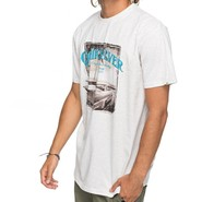 T-SHIRT QUIKSILVER PLAY TOUGH BLANC