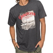 T-SHIRT QUIKSILVER PLAY TOUGH NAVY
