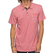 POLO QUIKSILVER POLO STRIPE ROUGE
