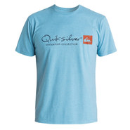 T-SHIRT QUIKSILVER WATERMAN ORIGINEL BLEU